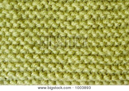 Green Knitting