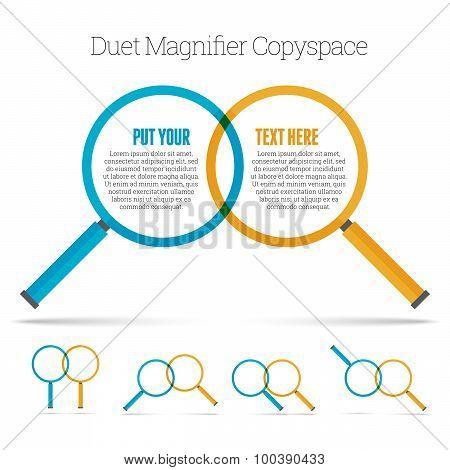 Duet Magnifier Copyspace