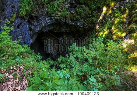 Sinkhole Entrance