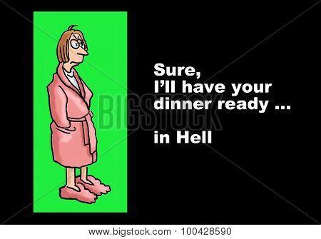 Disgruntled Wife
