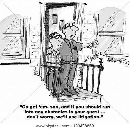 Litigation if Necessary