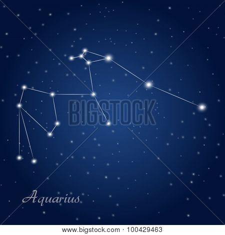 Aquarius constellation zodiac