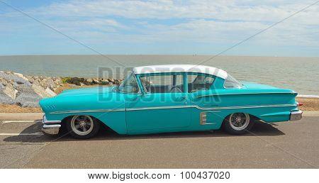 Classic Light Blue Chevrolet Delray