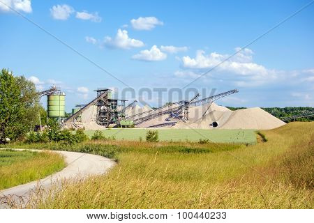 Open Pit Mining And Processing Plant