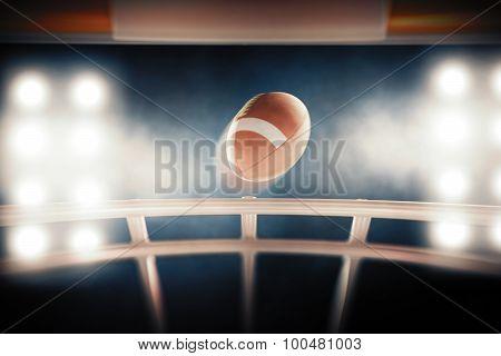 Speed of  football ball