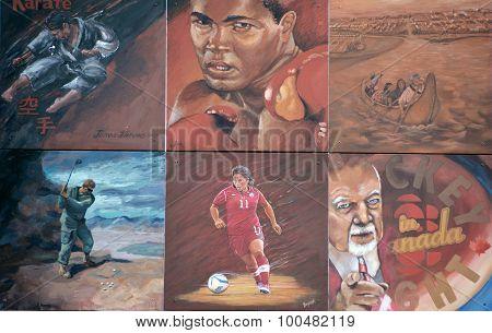 Sport story