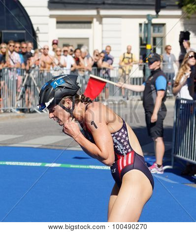 Katie Zaferes Changing From Swimming To Cycling