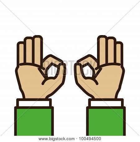 Hand sign design