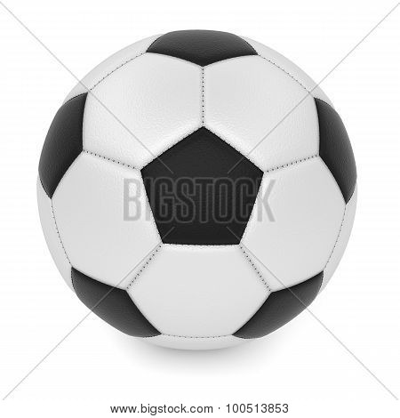 Textured Leather soccer ball