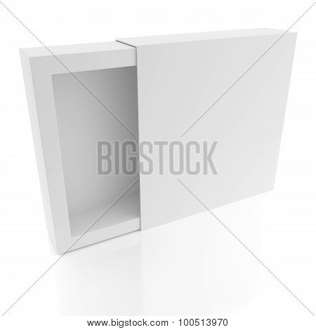 Simple White Package Box