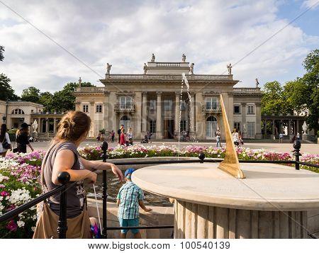 Lazienki Park (royal Baths Park)