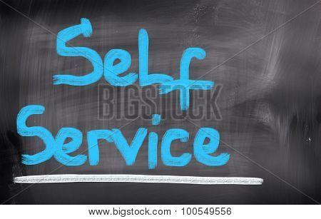Self Service Concept