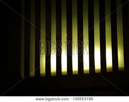 Striped Lightnning Indor Compositon