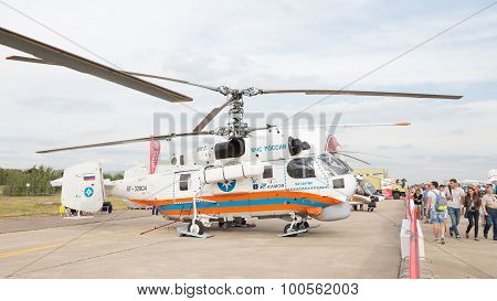 Russian Emergency Situations Ministry Helicopter