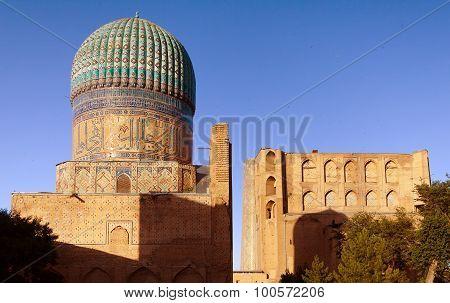 Bibi-khanym Mosque - Registan - Samarkand - Uzbekistan
