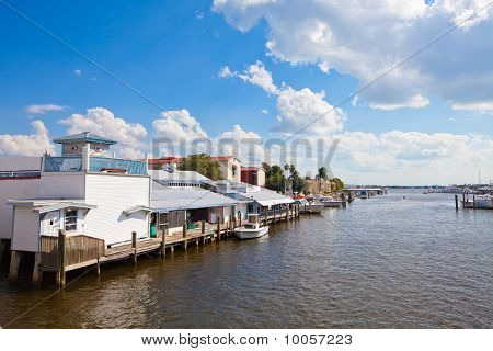 Water Front Dock And Restaurant