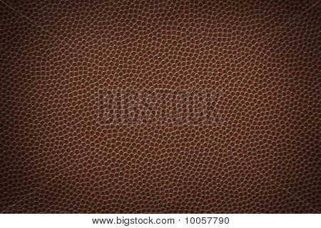Flat American football texture or background with vignette. poster