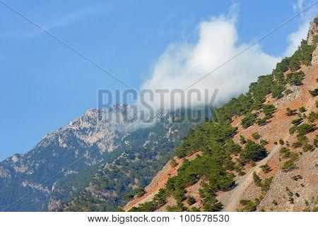 Lefka Ori - rocky summit of the White Mountains