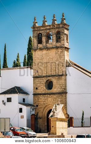 The Church of Padre Jesus - Iglesia de Padre Jesus is a 16th century gothic style church.