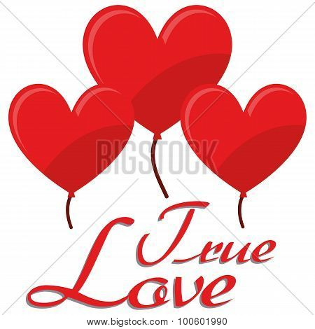 Illustration Vector Graphic Hearts, Love And Romantic