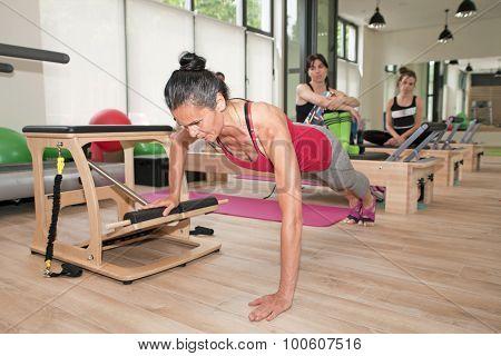 Pilates On Chair