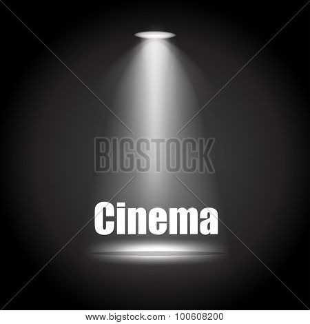 Cinema background vector illustration eps10 vector illustration