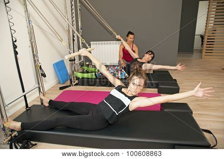 Pilates With Instructor