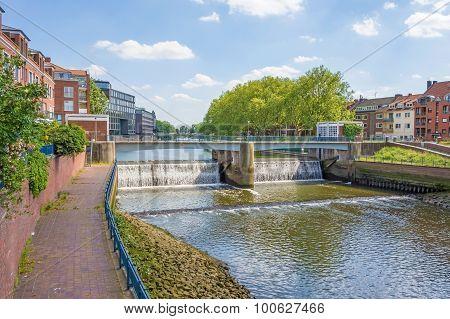 Kleine Weser Weir, Bremen