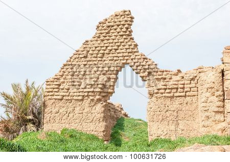 Ruins Of A Building At Matjiesfontein Near Nieuwoudtville