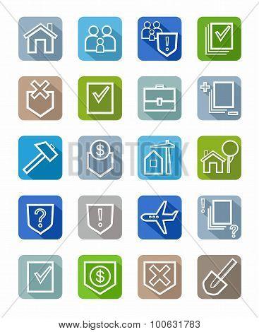 Icons Legal Services, White O...