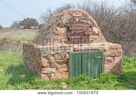 Outdoor Oven At Matjiesfontein Near Nieuwoudtville