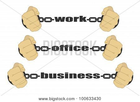 Work, Office, Business Signs