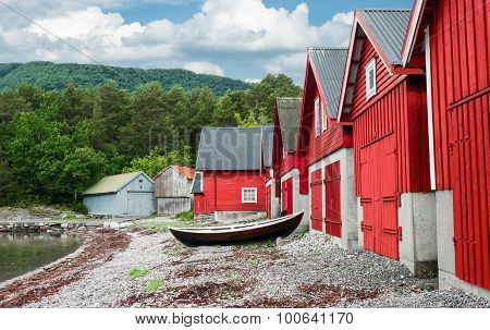 Boathouses in Norway