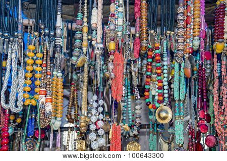 Garlands Of Tantric Beads