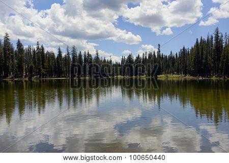 Summit Lake Lassen National Park, California