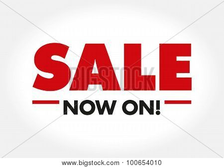 Sale Banner in Vector Format