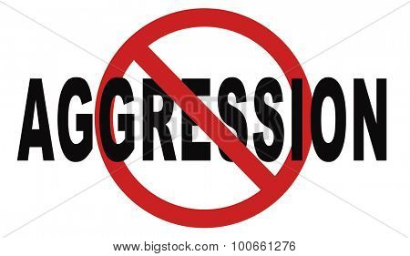 stop aggression and violence bring peace and stop the fighting and hostility