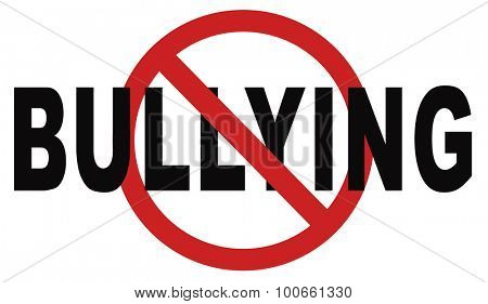 stop bullying prevention for no bullies at school work or in the cyber internet