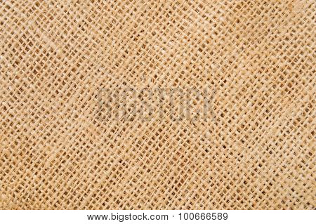 Old Brown Ramie Sac Background