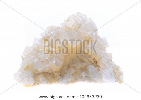 Calcite Mineral Isolated