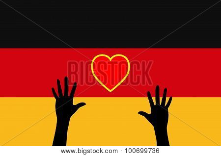 Refugees Relying On Germany