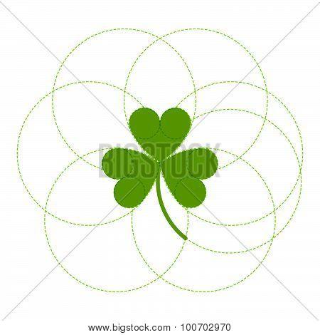 Green clover easy logo.