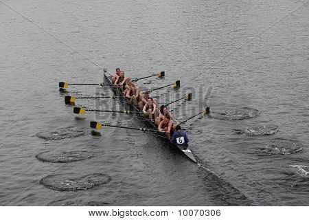 Boston - October 24: The University Of Vermont Women Compete In The Head Of The Charles Regatta  On