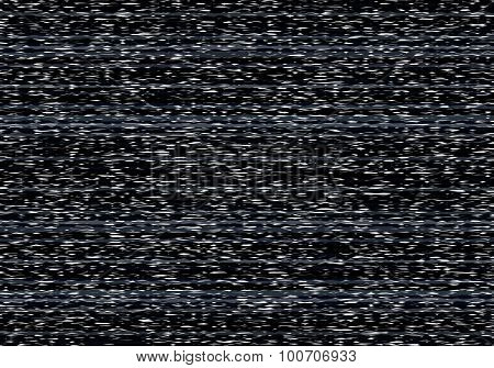 Bad Television Signal Illustration