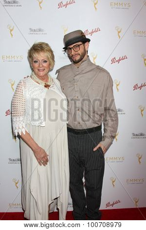 LOS ANGELES - AUG 30:  Judi Friedman, Brian Friedman at the TV Academy Choreography Peer Reception at the Montage Hotel on August 30, 2015 in Beverly Hills, CA