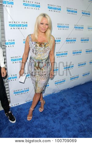 LOS ANGELES - AUG 29:  Pamela Anderson at the Mercy For Animals Hidden Heroes Gala at the Unici Casa on August 29, 2015 in Culver City, CA