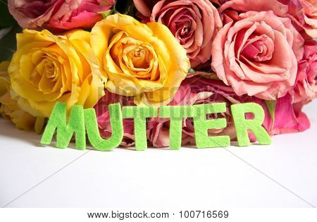 Mutter - the german words for mother