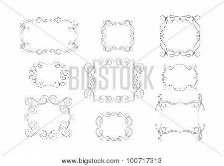 Beautiful Vector Decorative Frames