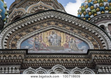 Church Of The Resurrection (savior On Spilled Blood) .st. Petersburg