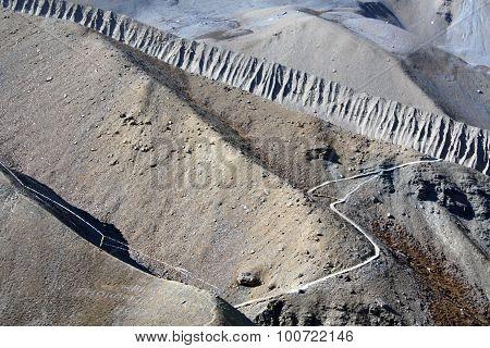 Manang Valley Trek Thorong La A Mountain Pass Annapurna Himal